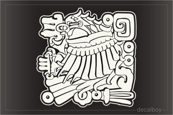 Aztec 22 Auto Decal