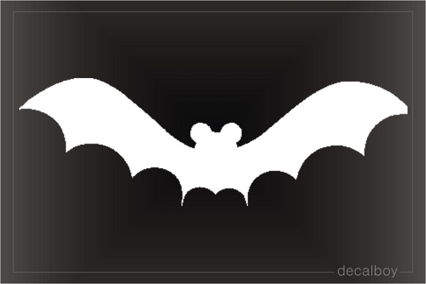 Bat 22 Window Decal