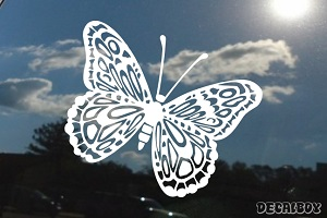 Borboleta Butterfly Window Decal