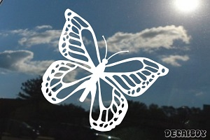 Monarch Butterfly 2 Window Decal