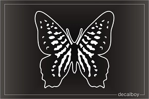Swallowtail Butterfly Clipart Window Decal
