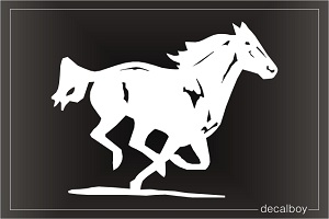 Horse Mustang Car Window Decal