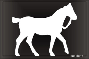 Welsh Pony Car Window Decal