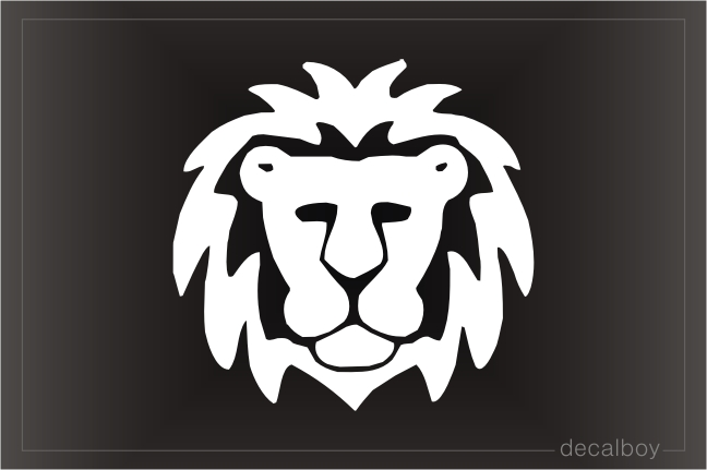 Lion 1 Window Decal