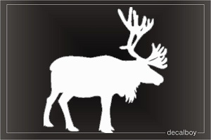 Moose 123 Window Decal