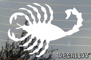 Scorpion 2 Window Decal