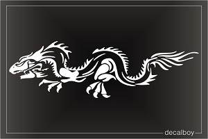Dragon 10 Car Window Decal