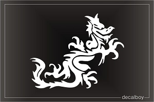 Dragon 28 Car Window Decal