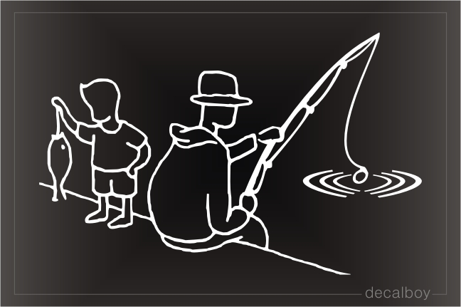Fishing Lines Clipart Window Decal