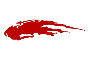 Paint Splatter Automotive Side Graphic Die-cut Decal