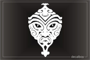 Tattoo Mask Die-cut Decal