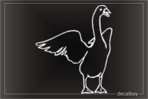 Goose 22 Window Decal