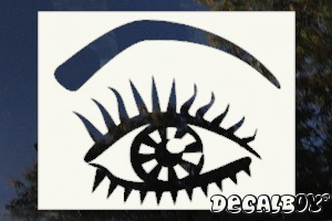 Eye Pretty Car Window Decal