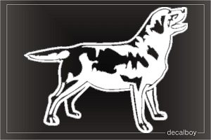Labrador 2 Window Decal