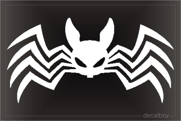Spider 123 Window Decal