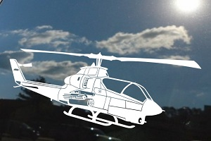 Ah 1g Cobra Helicopter Decal