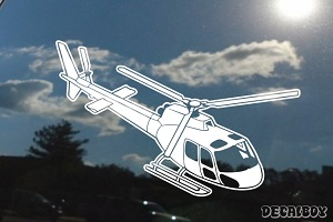 As350 Helicopter Decal