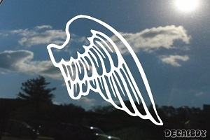 Angel Wing Window Decal
