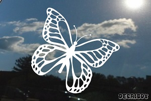 Butterfly Coletivo Window Decal