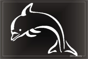 Dolphin Sybil Window Decal