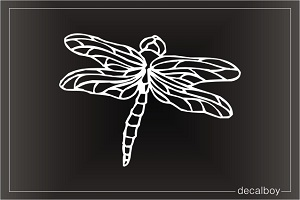 Green Darner Dragonfly Car Window Decal