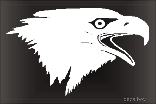 Eagle 7 Window Decal
