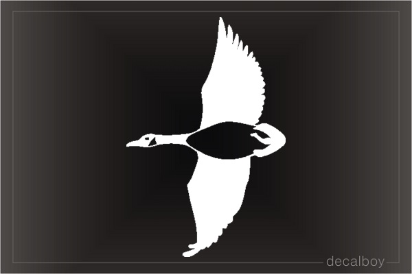 Goose Window Decal