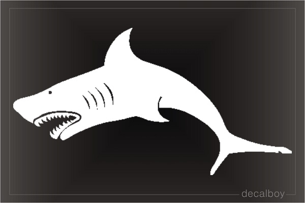 Shark Window Decal