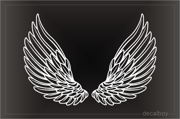 Anime Wings Decal
