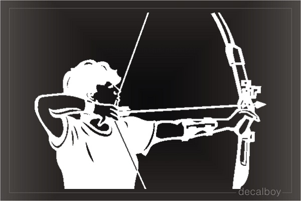 Archer 8845 Window Decal
