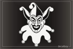 Auguste Clown Decal