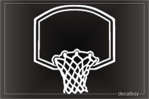 Basket Window Decal