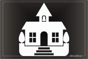 Building 2 Car Decal