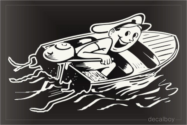 Boating Window Decal