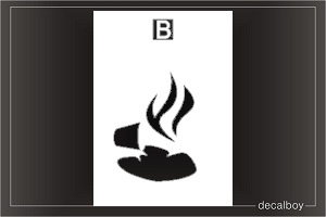 Burn Decal