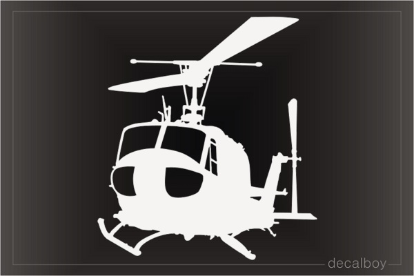 Bell UH 1d Sar Helicopter Decal