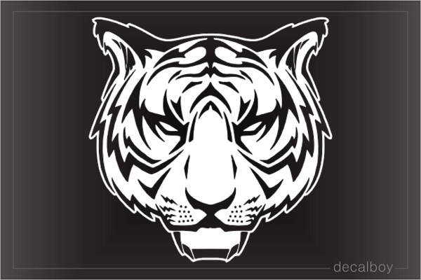 Bengal Tiger Window Decal