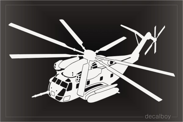 CH 53 Echo Marines Helicopter Decal