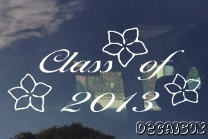 Class Of 2013 Car Decal