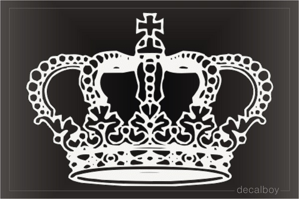 Queen Crown Decals Stickers Decalboy