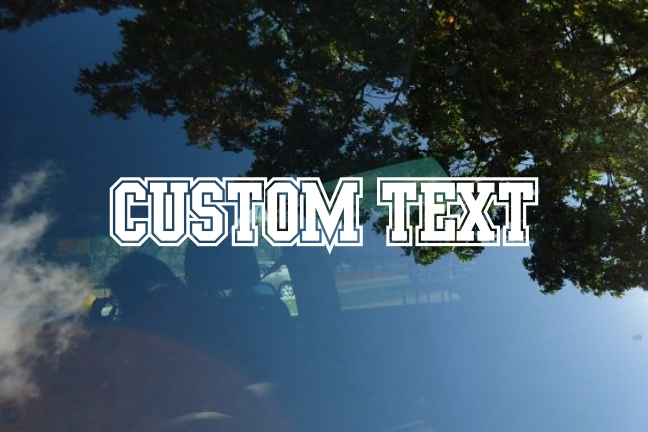 Custom Die Cut Vinyl Lettering Decals Stickers Decalboy - Custom vinyl cut decals