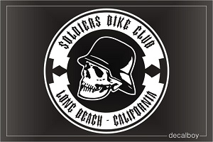 Design Motorcycle Club Logo Decal