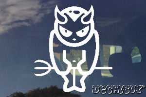 Devil 666 Car Decal