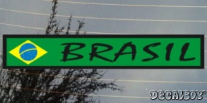 Flag Brazil Color Auto Decal