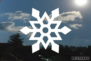 Snowflakes 22 Car Decal