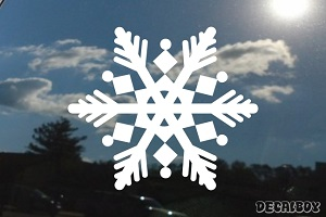 Snowflakes 4 Car Decal