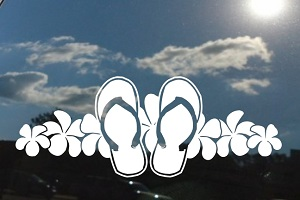 df5915681 Flip Flops Decals   Stickers