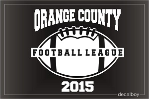 Football League Decal