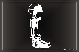 Boots Helmet Rifle Decals Amp Stickers Decalboy