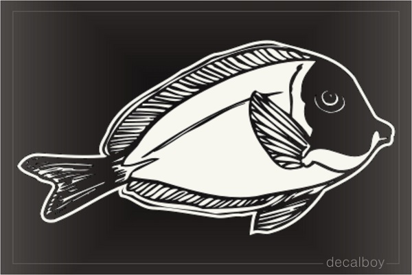 Fish Tropical Window Decal